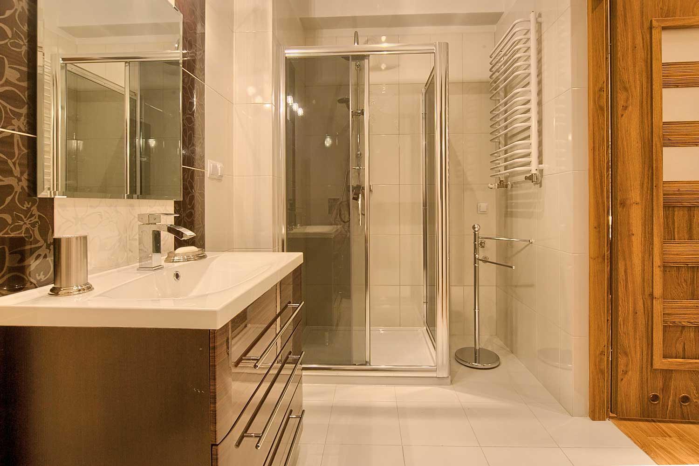 violet lazienka prysznic - apartament zakopane violet