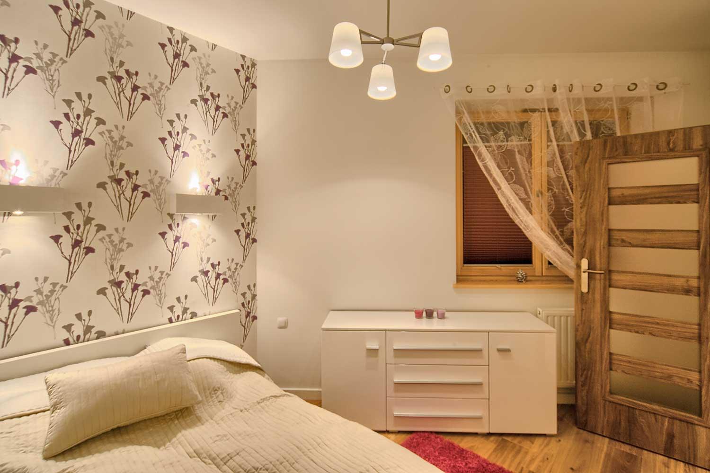 violet sypialnia - apartament zakopane violet
