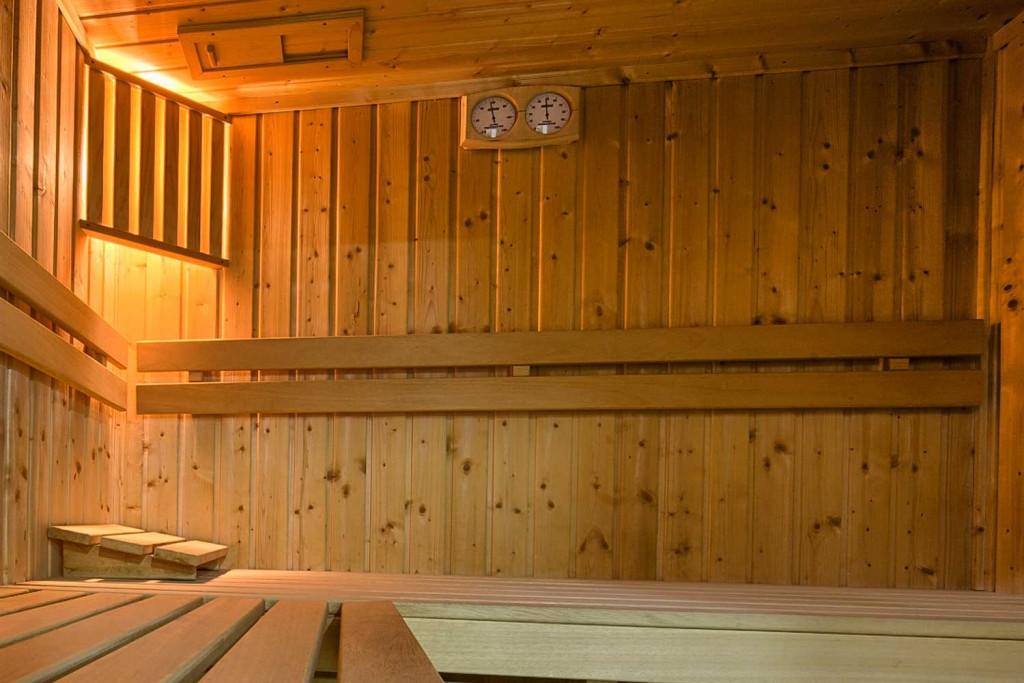 sauna w kompleksie SPA w Zakopanem