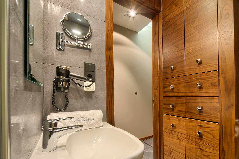 Wygodna łazienka w apartamencie Szymoszkowa