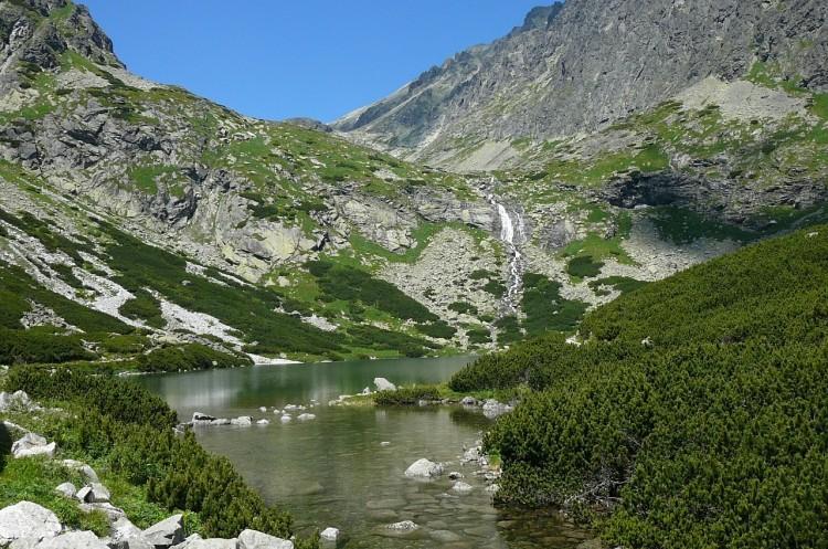 Piękny widok na Tatry