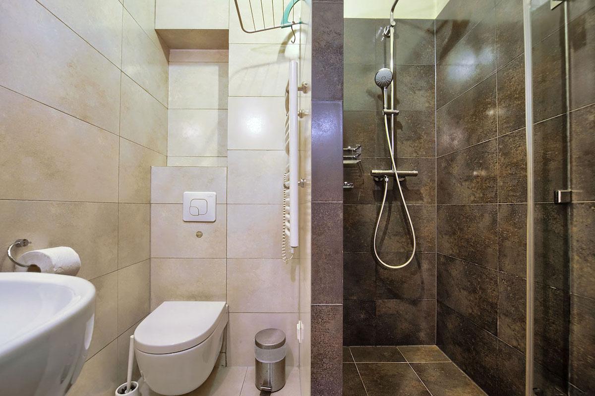 Łazienka w apartamencie Góralski SPA